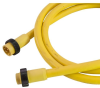 Mini-Link Cable Assembly, Rubber, Male/Female, 6B pole, 12', 16 AWG -- 106BG0120A - Image
