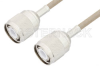 HN Male to HN Male Cable 12 Inch Length Using RG141 Coax -- PE34434-12 -Image