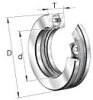 51400 Series Heavy Duty Ball Thrust Ball Bearings -- 51422
