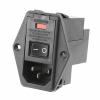 Power Entry Connectors - Inlets, Outlets, Modules - Filtered -- 5-6609929-0-ND-Image
