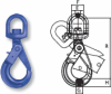 Grade 100 Swivel Self-Locking Hooks