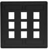 Datacommunication Face Plate -- IFP29BK - Image