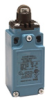 Global Limit Switches Series GLS: Top Roller Plunger, 1NC 1NO Slow Action Make-Before-Break (M.B.B.), 20 mm, Gold Contacts -- GLCC34C-Image