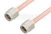 SMA Male to SMA Male Cable 12 Inch Length Using RG402 Coax, RoHS -- PE3492LF-12 -Image