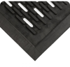 Wearwell 224 Black Styrene Butadiene Carpeted Entry Mat - 3 ft Width - 5 ft Length - 715411-20302 -- 715411-20302