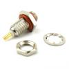 10-32 Female Bulkhead Connector Solder Cup Terminal Solder Attachment -- SC5563 - Image
