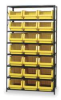 Shelves,W/Bins,Yellow -- MSU-532YL