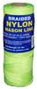 #1 BRAIDED NYLON MASON 250' FL YELLOW -- 12-531 -- View Larger Image