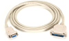 10-ft Premium RS232 AT Modem Cable DB9 F/DB25 M 9-Conductor -- EVMTBMC-0010 - Image