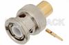 BNC Male Connector Solder Attachment for PE-SR401AL, PE-SR401FL, RG401 -- PE4908 -Image