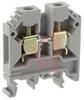 Terminal Block; Feed-Through; DIN Rail;32/35 mm; 43 mm L x 47 mm H; 8 mm, Gray -- 70078322