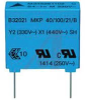 CAPACITOR; CAP .0047UF; TOL+-20%; FILM;VOL-RTG 300VAC ; MKPY2 -- 70102631