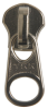 Zipper Sliders - #10 Aluminum 2-Way Bottom Slide -- ZS102MAL