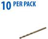 Jobber Drill Bit: heavy duty HSS-Co5, 3.0mm diameter, 10/pk -- 215030 -- View Larger Image