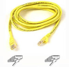 Belkin - 5' Snagless CAT5e Yellow Patch Cable -- A3L791-05-YLW-S