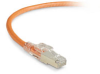 GigaTrue 3 CAT6 250-MHz Lockable, Shielded, Stranded, Backbone PVC Cable (Sc/FTP), 1-ft. (0.3-m), Orange -- C6PC70S-OR-01 - Image