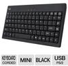 Adesso AKB-110B Easy Touch Mini Keyboard - USB, PS/2 -- AKB-110B