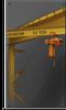 Free Standing Jib Crane -- 1 Ton FS300-12-10 - Image