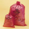 "Biohazard Trash Bag 14"" x 19"" Red -- F131641419"