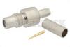 SMC Jack Connector Crimp/Solder Attachment for RG174, RG316, RG188, LMR-100, PE-B100, PE-C100, 0.100 inch -- PE4094 -Image