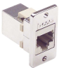 Cat3 RJ45 Coupler Shielded (8x8) Panel Mount Style -- TMC00002 -Image