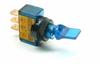 Illuminated Mini Duckbill Toggle Switch (12v)- Blue -- 70118 -- View Larger Image