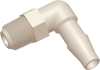 Commercial Grade Barb to Thread Elbow Connector Male Thread -- AP081032KM06N -- View Larger Image