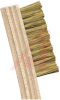 Brush; brass bristle 1-3/8x7/16x5/16; wood handle 7-3/4 in length -- 70125515 - Image