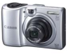 Canon Powershot A1300 Silver 16mp 5x (18-140mm) Optical Zoom 2.7in LCD Camera w/ 720p HD Video - Uses AA Batteries -- 6177B001