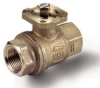 Brass Ball Valve -- s. 6439 NPT