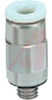 Fitting, mini male connector, 10-32UNF thread, for 5/32 OD tube -- 70071173