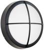 VANDAL-RESISTANT ROUND FIXTURE WITH 26 WATT CFL LAMP -- IBI457406