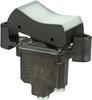 TP Series Rocker Switch, 1 pole, 2 position, Screw terminal, Flush Panel Mounting -- 1TP1-6 - Image