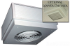 Ceiling Mount Fan Driven Heater -- P3472A1 - Image