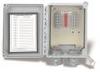 "Interface cable reduction box 8"" x 6"" x 4"" NEMA 4X (IP66) fiberglass enc, 12 channels terminal strip input, terminal strip output, no conn ports -- 691B35 -- View Larger Image"