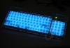 Super Slim Acrylic Illuminated Keyboard - Black -- 32008