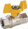 Metric Ball Valves Series BVGL -- BVGTL BSPP Female/Female Valve with Compact Handle