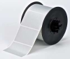 Tape,Silver Metalized,Polyester,3x2In -- 6UNL3