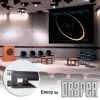 Electrically Operated Projection Screen. -- Envoy