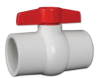 Hayward® QVC Series Compact PVC Ball Valves Socket White 3/4