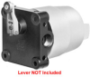 Explosion-Proof Limit Switches Series CX: Standard Housing: Side Rotary, Lever not included -- 21CX14-D01