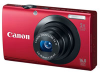 Canon Powershot A3400 Red 16mp 5x (28-140mm) Optical Zoom 3in Touch Panel LCD Camera w/ 720p HD Video -- 6186B001