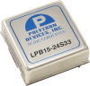 DC-DC Converter, 15 Watt Single and Dual Output, Low Profile Regulated, 4:1 Wide Input, 1