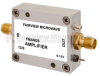 22 dB Gain Block Amplifier Operating From 200 MHz to 2.5 GHz with 15 dBm P1dB and SMA -- FMAM25 -Image