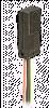SR15 Series Hall-Effect Digital Position Sensor; Flat Mount Housing; Sinking Output; unipolar magnetics; 3.8 to 30 Vdc supply voltage -- SR15C-A3 -Image