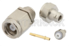 SMC Plug Connector Clamp/Solder Attachment For RG178, RG196 -- PE4202 -Image