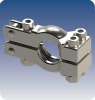 ASME Sanitary Clamp Fittings for High Pressure Hygienic Connections -- View Larger Image