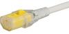 VAC13KS, North America, V-Lock cord retaining, 5.0 m, Connector IEC C13, SJT 3x16 AWG, white