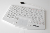 Professional Grade Medical Keyboard with Touchpad -- KBWKRC87T-CG07