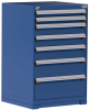 Heavy-Duty Stationary Cabinet (with Compartments), 7 Drawers (30